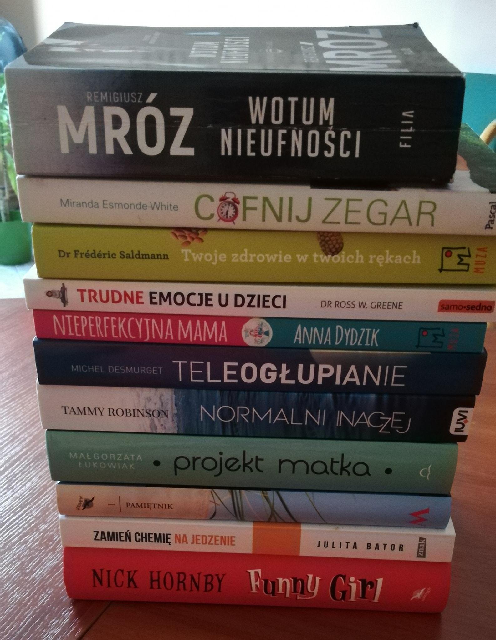 Wielka wymiana książkowa PRZECZYTAJ & PODAJ DALEJ vol. 6