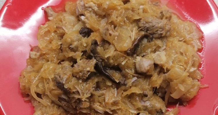 Bigos staropolski, danie jak za dawnych lat.